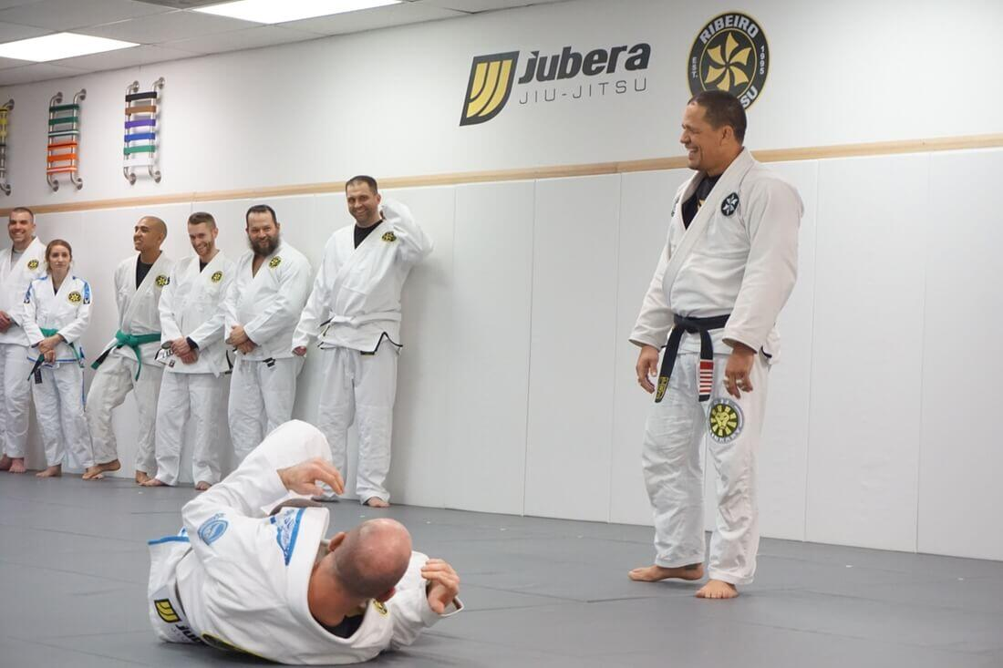 Saulo Ribeiro Teaching Brazilian Jiu-Jitsu