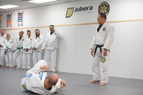 Saulo Ribeiro Teaching Beginner Class at Jubera Jiu-Jitsu